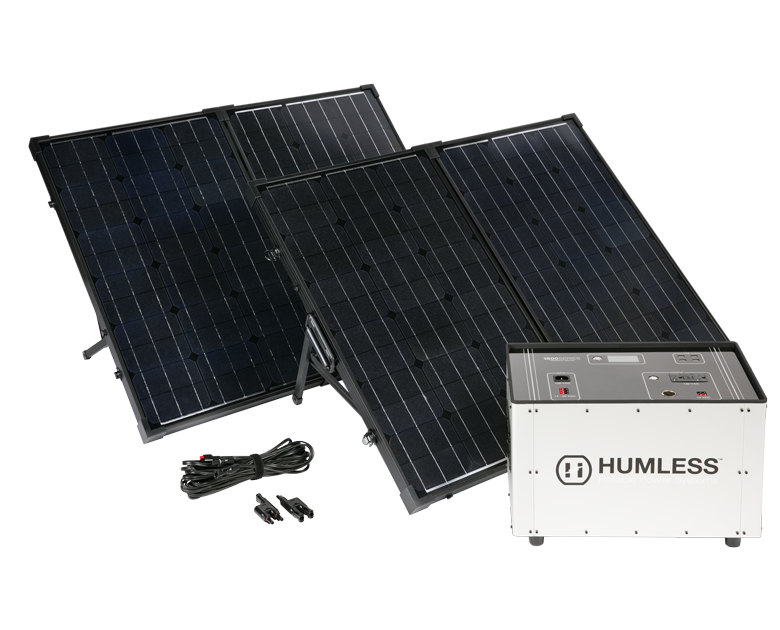 Humless Solar Generator Battery Kit