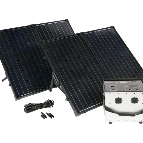 Humless Solar Powered Generator Kit
