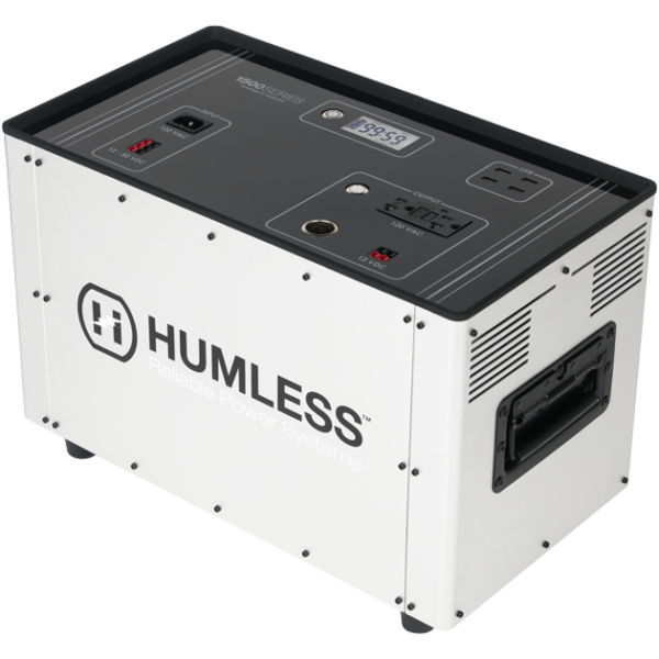 Humless Solar Powered Battery Backup